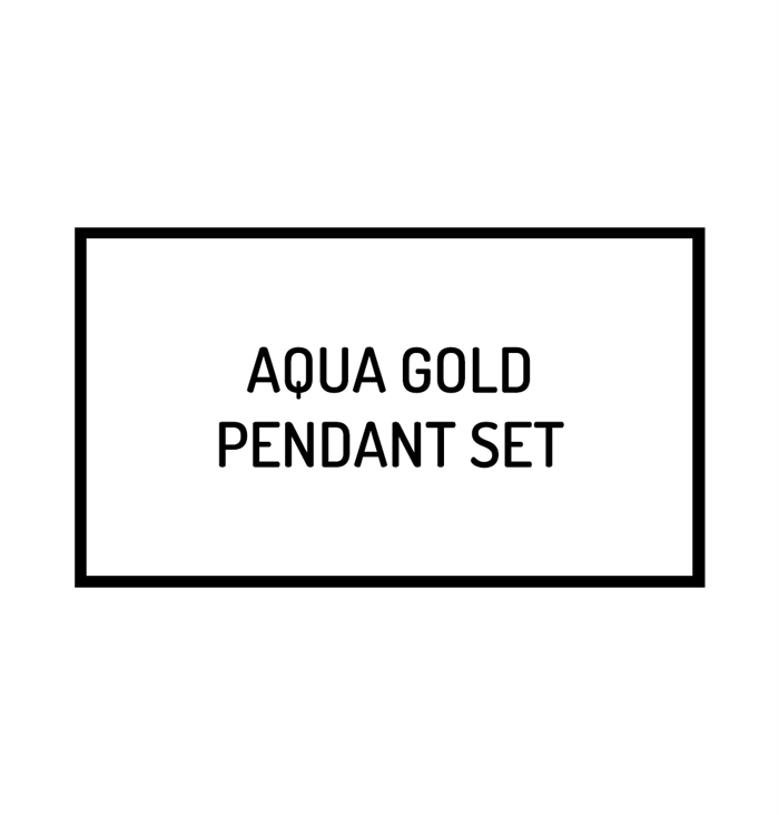 The Mi Amor Heart Pendant Set