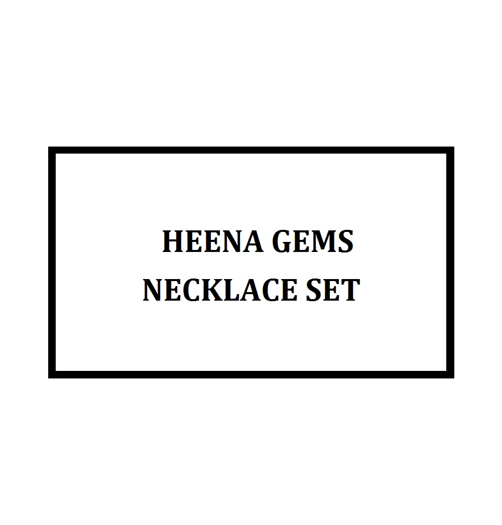 The Miracle Stone Necklace Set