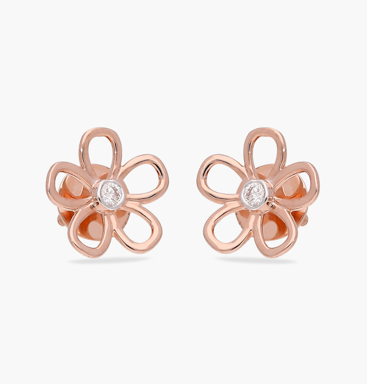 The Mirthful Flower Earring