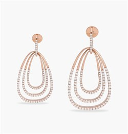 The Oviform Pendulum Earring