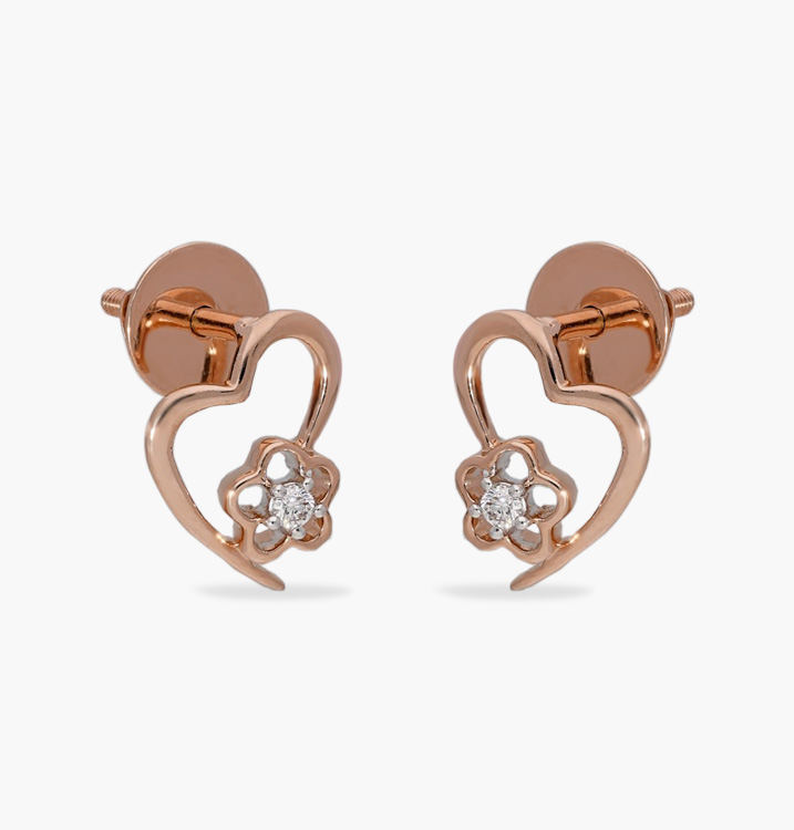 The Poppet Heart Earring