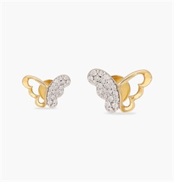 The Ringlet Butterfly Earring