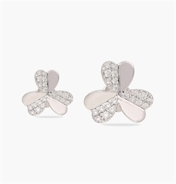 The Trio Heart Flos Earring
